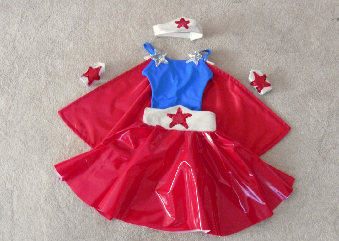 Modified Wonder Woman (Kids)