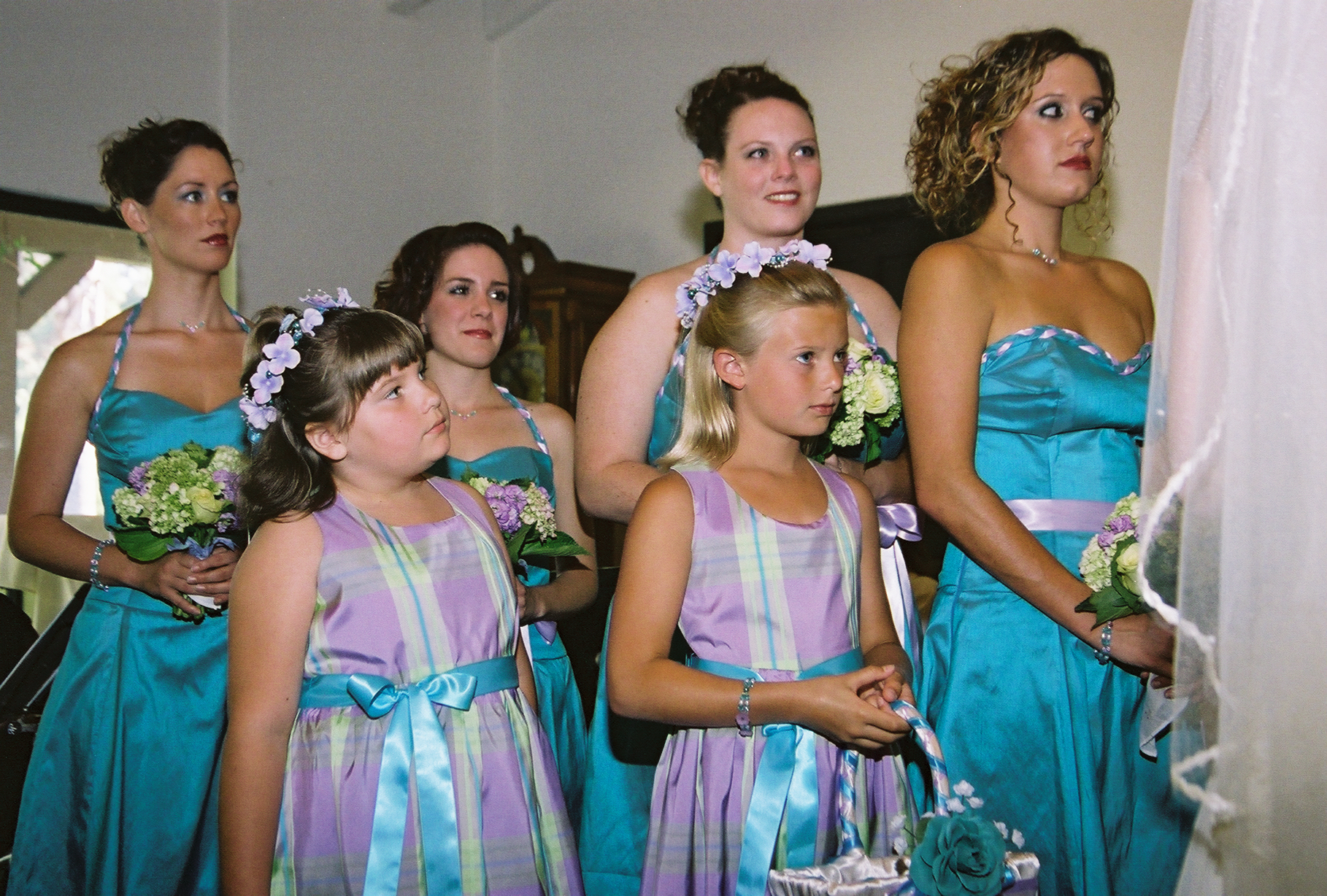 My Brides Maids & Flower Girls
